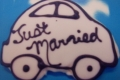 """Just"" Married Car"