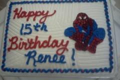 spiderman-sheet-cake