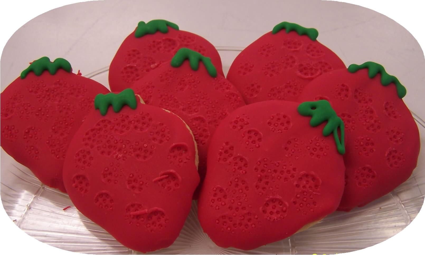 Strawberry-cuts