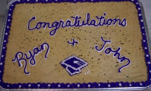 Cookie Cake - congratulations