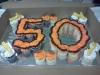 50th Cupcake Cake