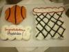 Basketball Theme Cupcake Cake